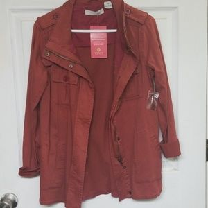 Rust Color Utility Jacket Size Small